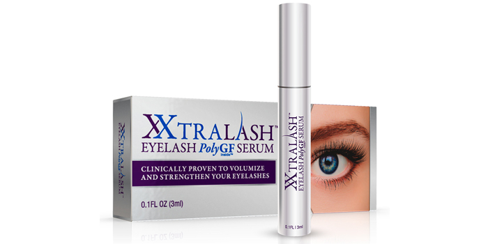 Bờ mi cong vút tự nhiên thu hút mọi ánh nhìn với XXtralash™ Poly GF Serum